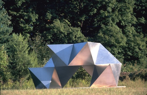 Charles O. Perry - Bisected Dodecahedron