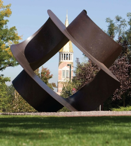 Charles O. Perry - Bullet Proof Campus Art